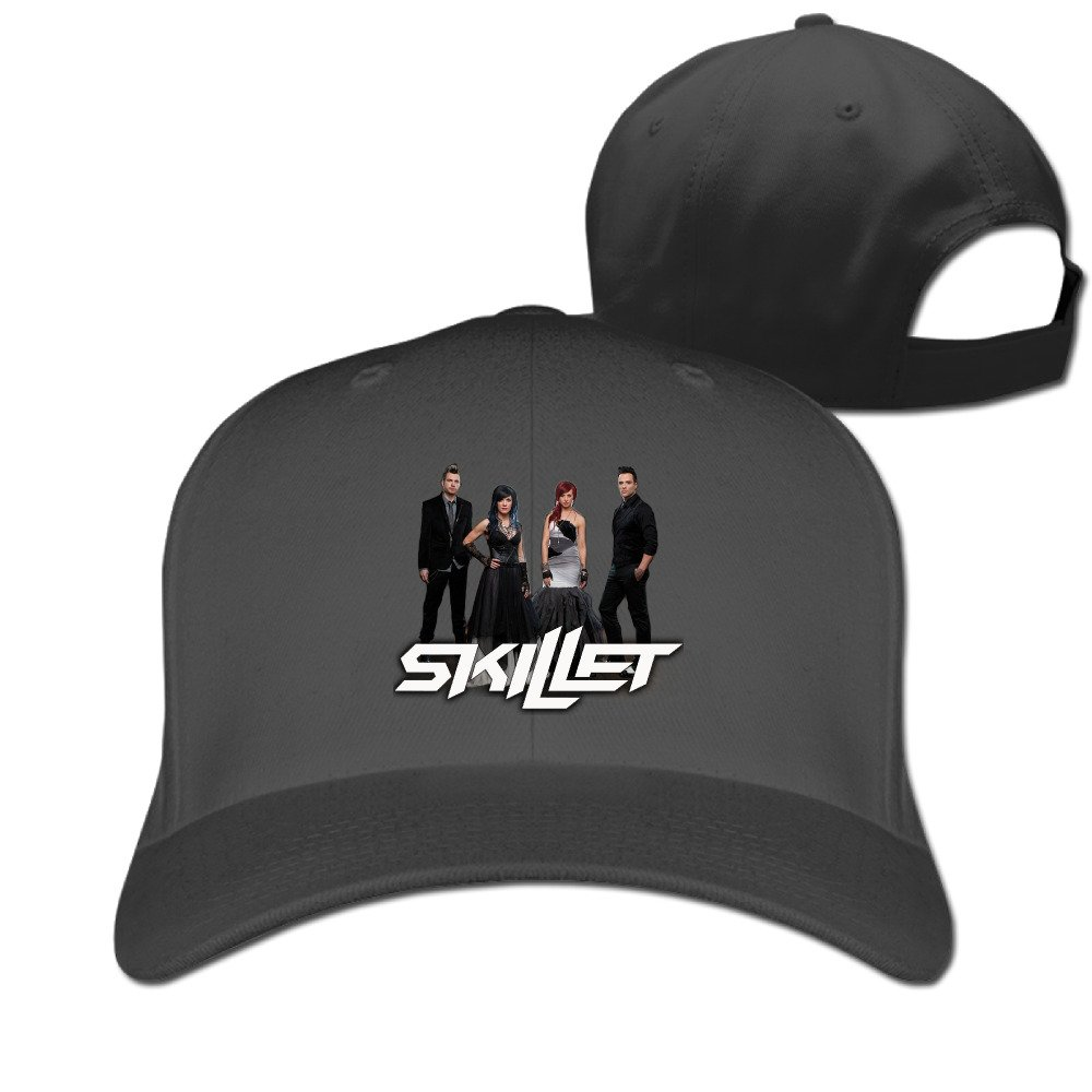 DETED Skillet Team Travel Cap Hat Black
