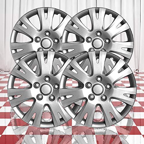 Brighter Design Set of 4 Front and Rear Silver 7 Split Spoke 16