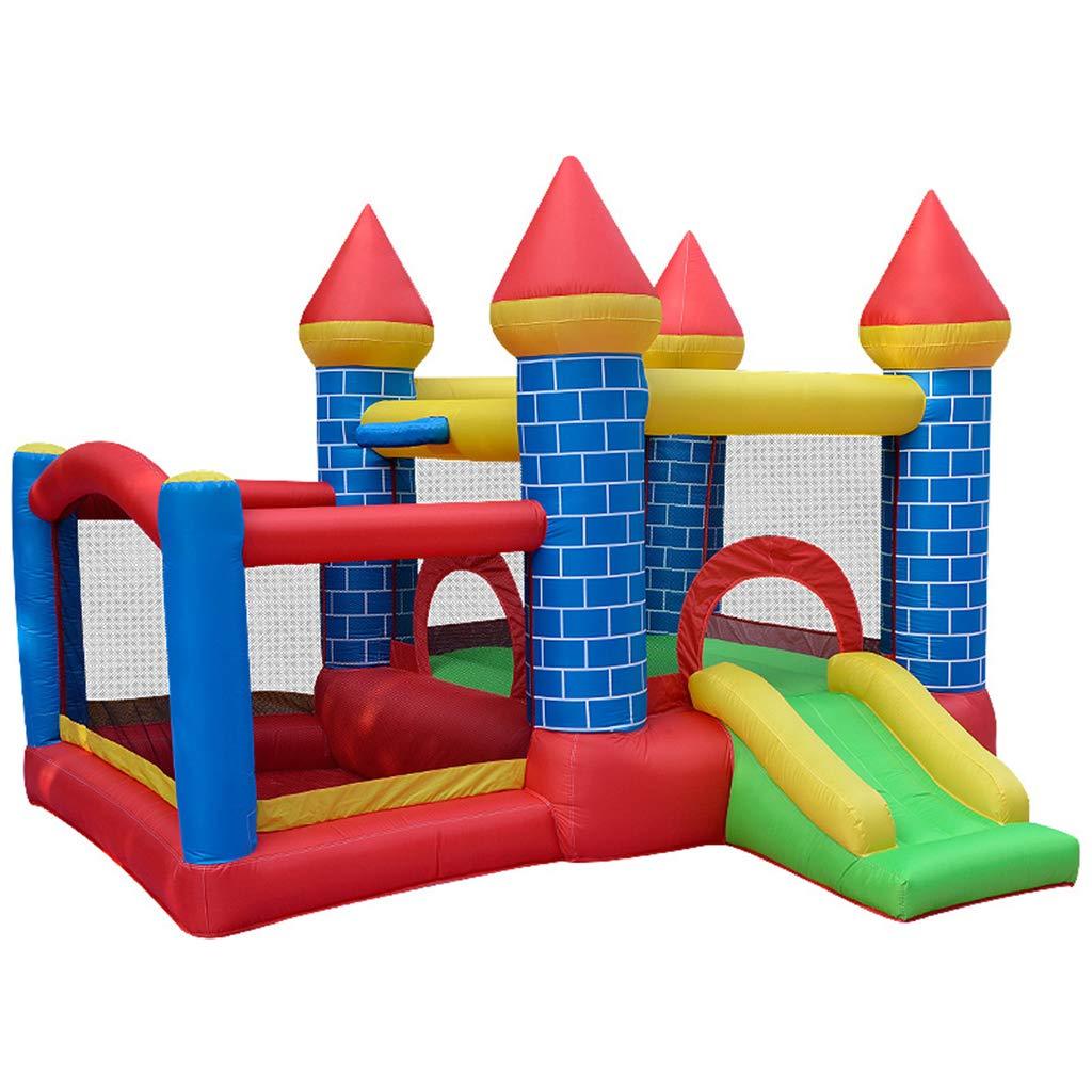 Parque De Atracciones para Niños Trampolín con Soplante De ...
