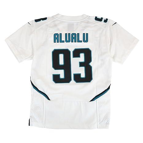 more photos 6a3c9 86f1e Amazon.com : NIKE Tyson Alualu Jacksonville Jaguars Away ...
