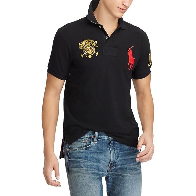 Ralph Lauren - Polo - para Hombre Polo Black M: Amazon.es: Ropa y ...
