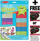 Booster Glitter Pack: Mess Free Glitter Series + FREE Melissa & Doug Scratch Art Mini-Pad Bundle [95020]