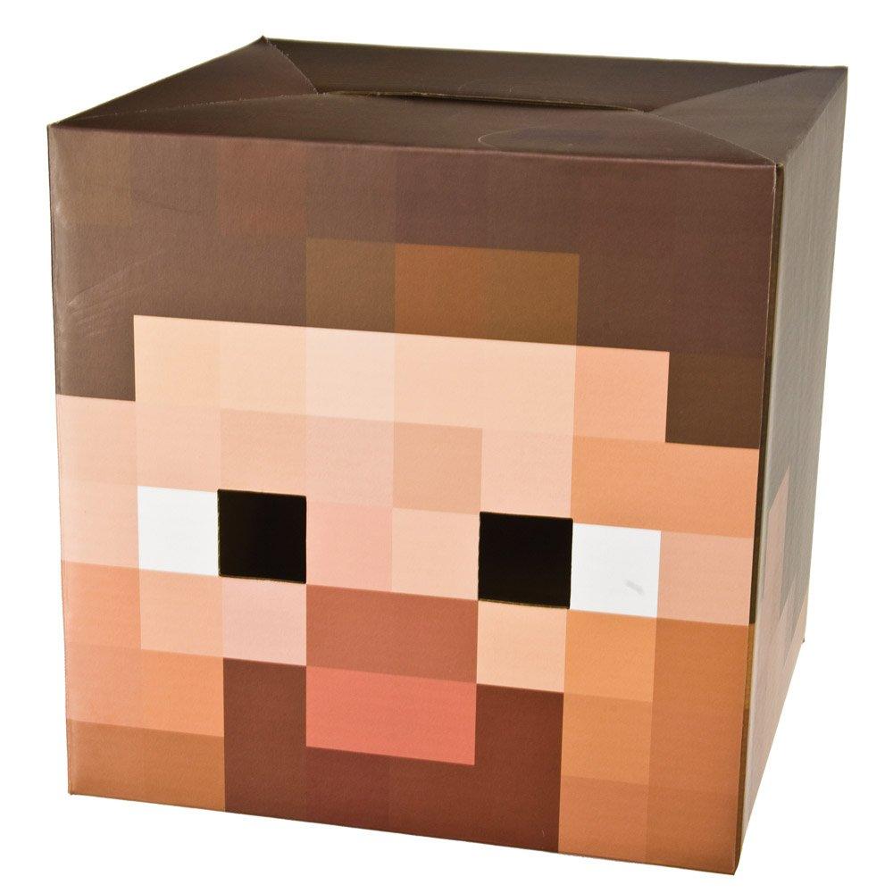 Minecraft 12 Steve Head Costume Mask