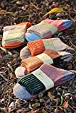 Generic 5 pairs mounted in tube warm winter thick wool socks Ms.