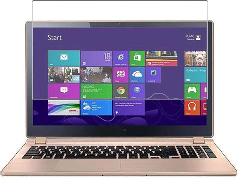 Puccy Tempered Glass Screen Protector Film, compatible with ACER ASPIRE V5-552 / V5-552G V/ 5-552P / V5-552PG / TOUCH 15.6