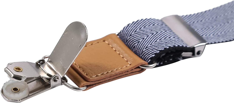 ORSKY Boys Suspenders and Bow Tie Set Adjustable Y Back
