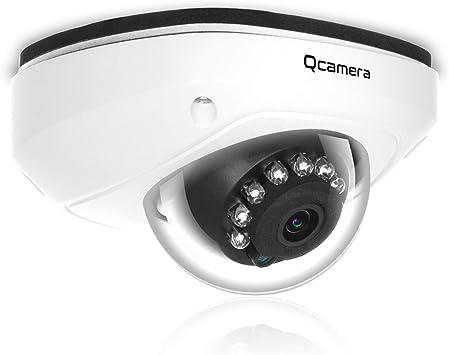 Opinión sobre Q-camera CáMara De Seguridad Tipo CúPula 1080P 2MP Tvi/Cvi /Ahd/Cvbs 1/2.9