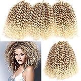 6 Packs Marlybob crochet hair afro kinky curly hair crochet braids curly wave