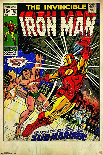 Trends International 24x36 Marvel-Iron Man #25 Premium Wall