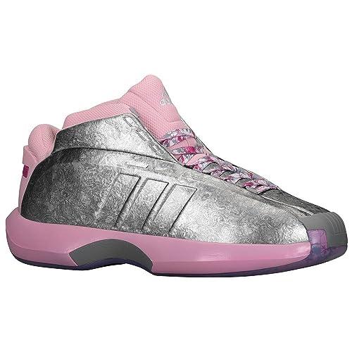 huge discount fad95 a6d81 ... coupon code for adidas crazy 1 mens shoe c76100 florist john wall pink  rose silver kobe