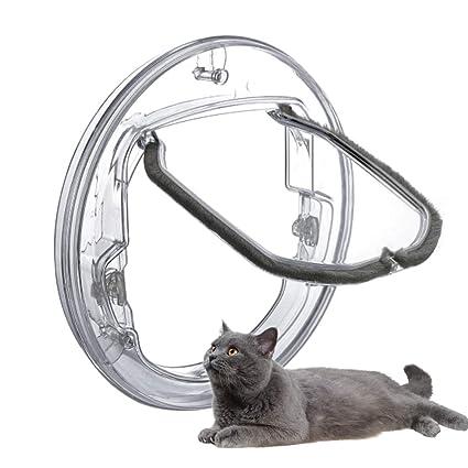 Puerta Abatible para Gatos, Puerta para Mascotas, Puerta ...