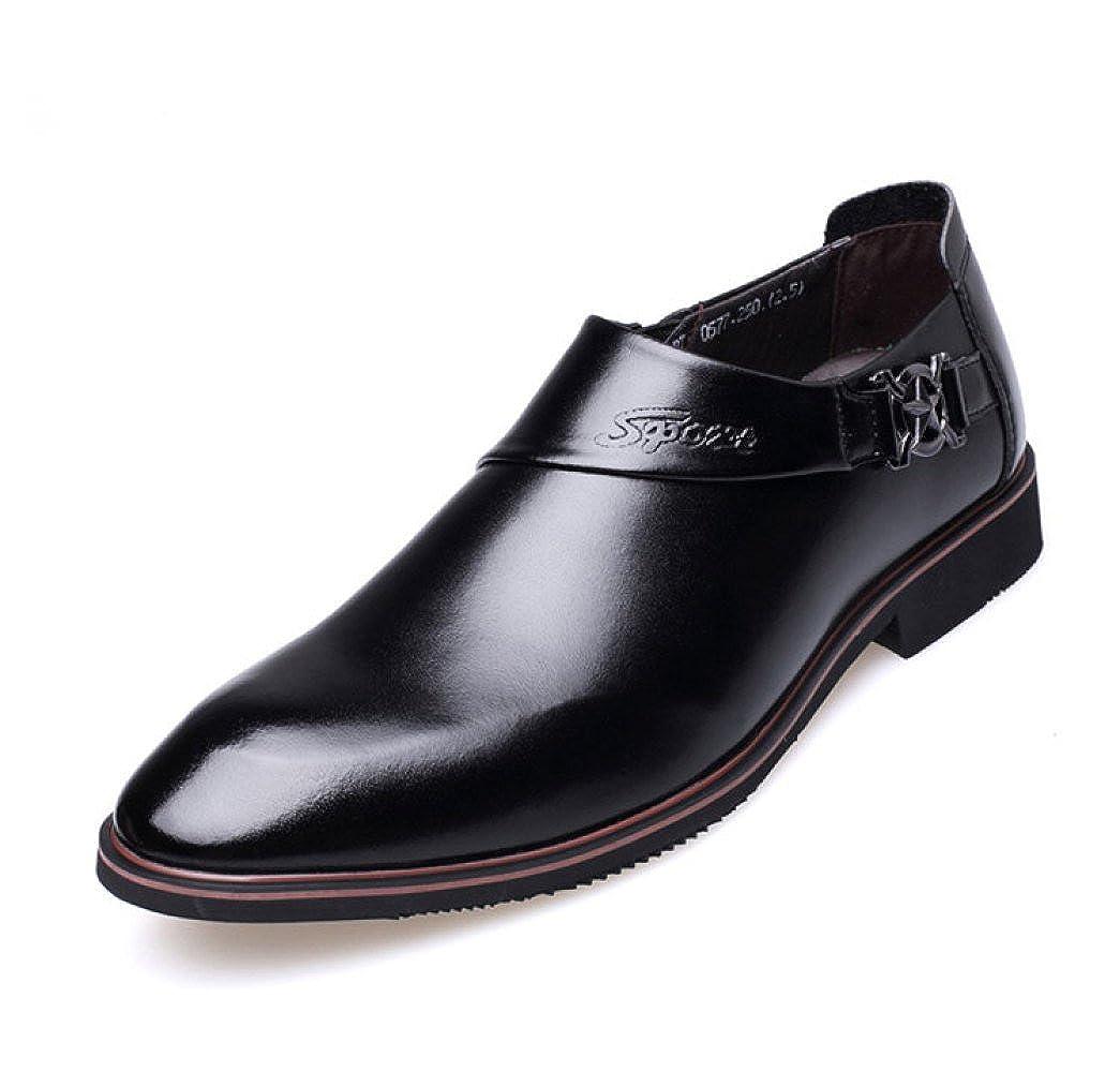 LEDLFIE Schuhe Herrenschuhe Herrenschuhe Herrenschuhe Business Casual Dress Schuhe Breathable Lederschuhe 1f4f8d