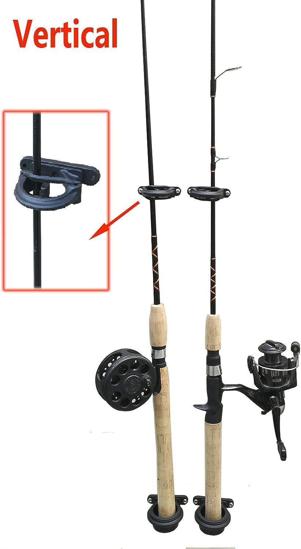 Wall Mount fishing 6 Rod Rack  Rod holder Brocraft Ceiling fishing Rod Storage