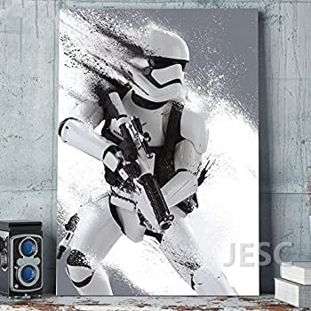 Amazon.com: Stormtrooper Star wars print poster canvas 5