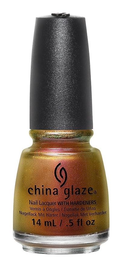 1 opinioni per China Glaze Nail Lacquer Cabin Fever (Pink To Copper Duo Chrome)- 14 ml
