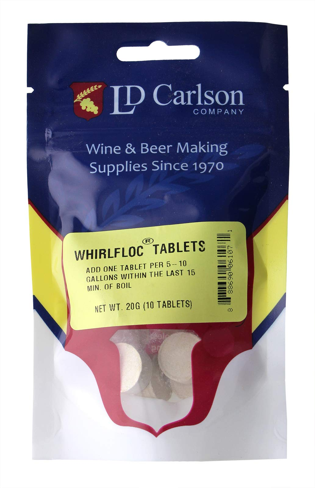 Whirlfloc Tablets- 10 tablets
