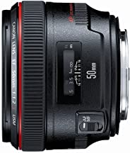 Canon EF 50mm f/1.2 L USM Lens for Canon Digital SLR Cameras - Fixed