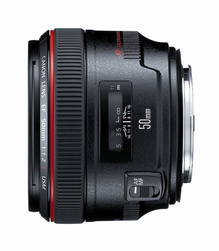 Canon EF 50mm f/1.2 L USM Lens for Canon Digital SLR Cameras 1257B002