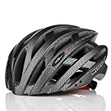 Mysenlan Cycling Helmet 039 for Men and Women (Dark Grey)