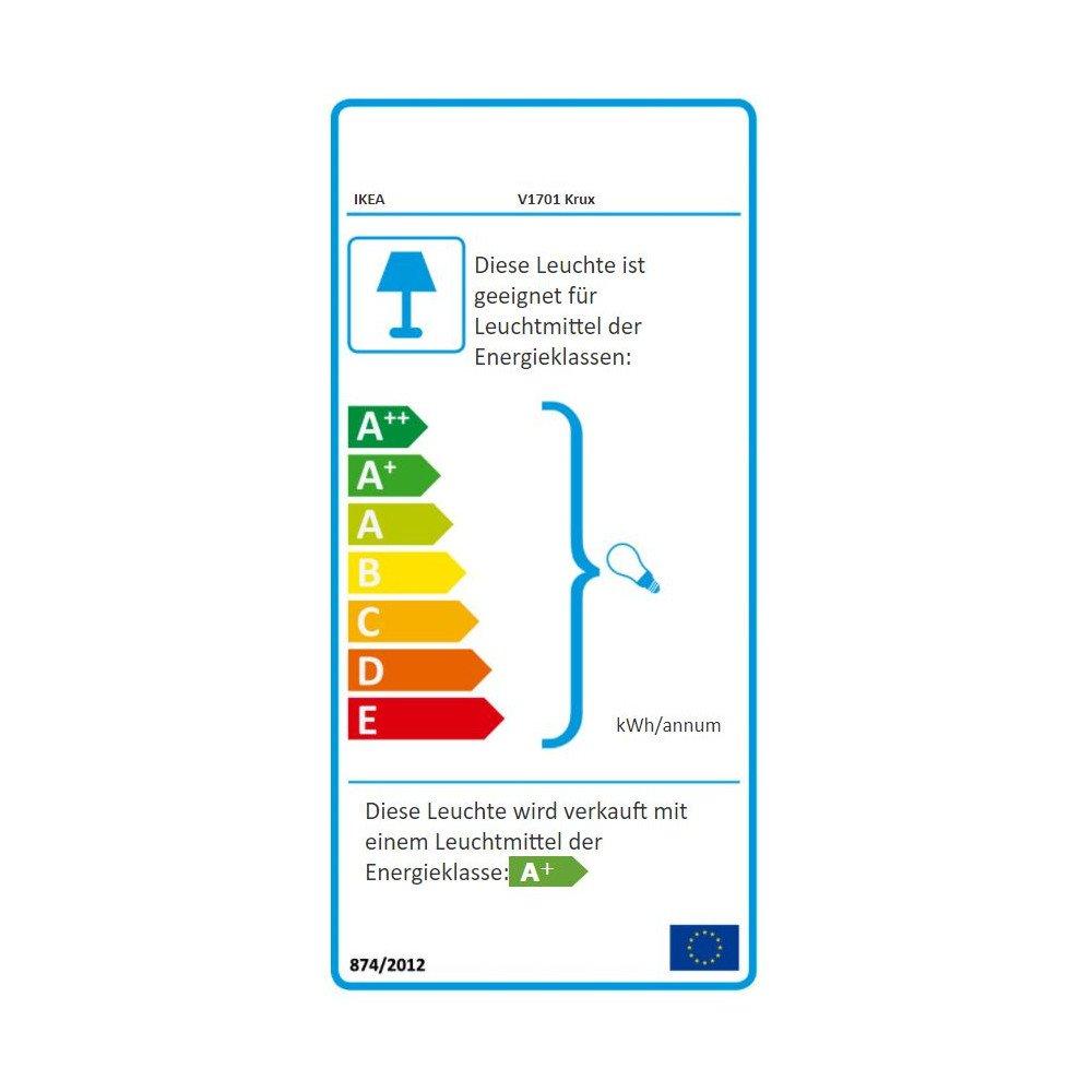 IKEA KRUX LED Wandleuchte Wandleuchte Wandleuchte in grün e4d4b6