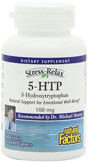 Natural Factors 5HTP 100 mg.