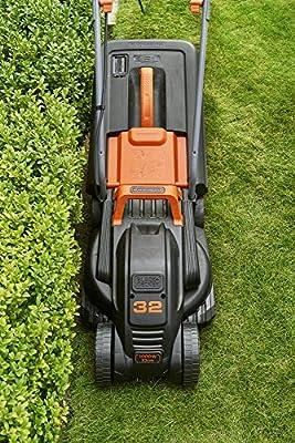 BLACK+DECKER BEMW351-QS - Cortacésped eléctrico 1.000W, ancho de ...