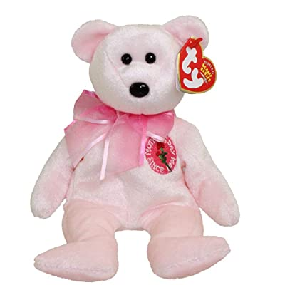 Ty Beanie Babies MOM-e 2004 - Bear (Ty Store Exclusive): Toys & Games