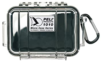 Peli 1010 with interior - Black, exterior - Clear,Peli