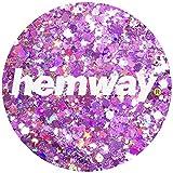 Hemway Rose Pink Holographic Mix Glitter Chunky