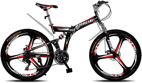 Qj Bicicleta De Montaña Bicicleta De 30 Velocidades MTB 26 ...