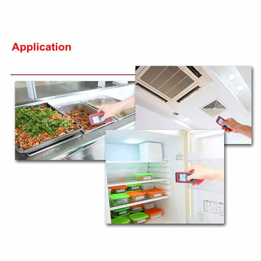 31-572/°F DIAMOEN Digital Infrared Thermometer IR LCD Temperature Meter Pyrometer 35-300/°C