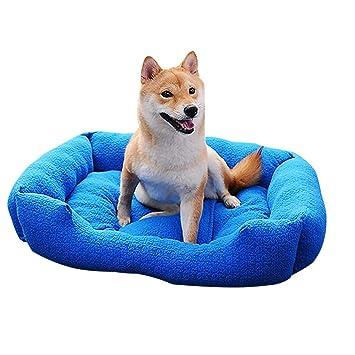 BulzEU - Colchón para Mascotas, Cama para Perros, Gatos, Mascotas, Nido de