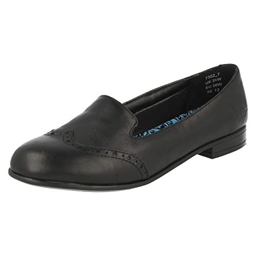Start-Rite - Mocasines para niña Negro Size: UK 4.5W Senior: Amazon.es: Zapatos y complementos