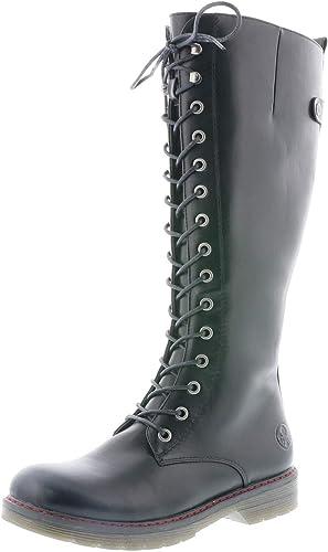 Rieker Femme Bottes, Boots 90430, Dame Bottes d'hiver