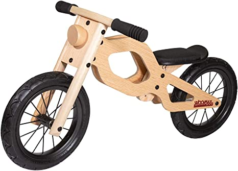 WOOMAX - Bici sin pedales en madera modelo Classic 12