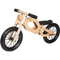 WOOMAX - Classic 12 Bici sin Pedales en Madera, Color Multicolor, 85374