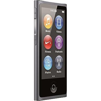 amazon com apple ipod nano 16gb slate 7th generation home audio rh amazon com iPod Nano 4th Generation iPod Nano Tutorial