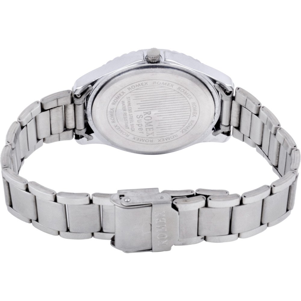 Buy Romex Super Studded Analog Silver Dial Girl\'s Watch-RDM-231 ...