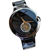 Kurti Fashion Cartier Analogue Imported Ballon Blanc Stainless Steel Mens Watch