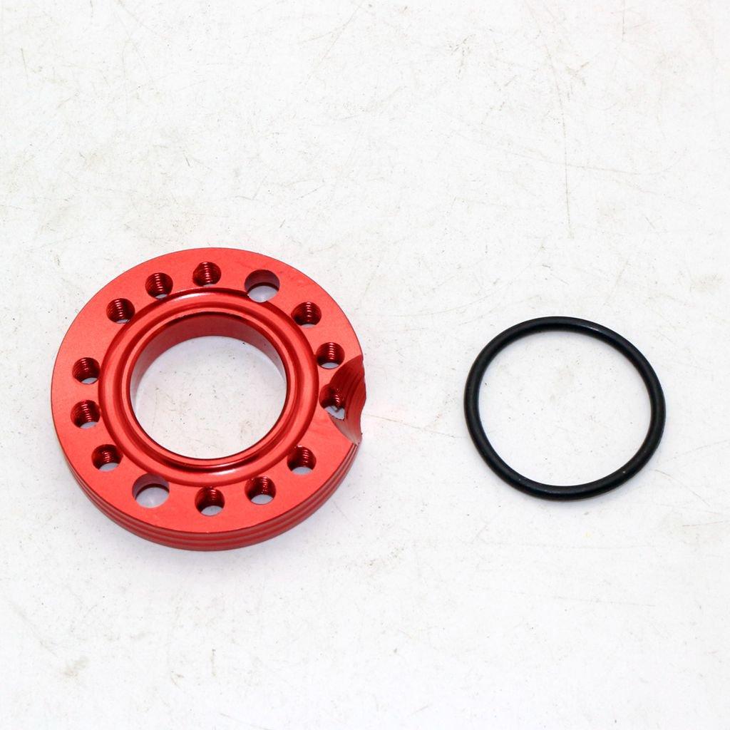 Sharplace Ajusteur De Plaque De Collecteur Dadmission De Carburateur De 28mm pour VTT Dirt Bike Noir