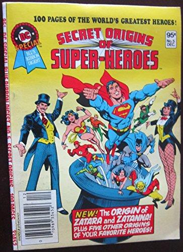SECRET ORIGINS OF SUPER HEROES - DC Special Blue Ribbon Digest Number (5) Five