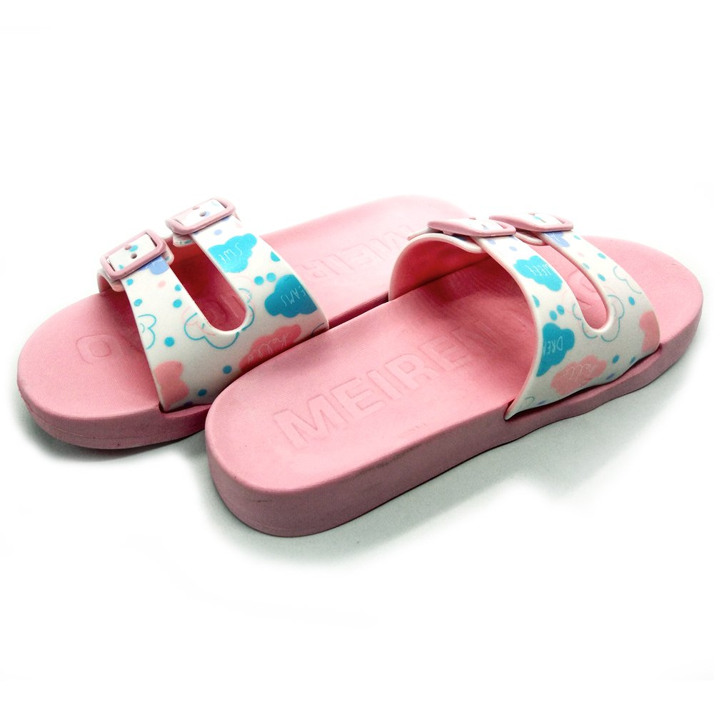 3M//35 US Little Kid, S Pink Cuby Kids Light Weight Shock Proof Slippers Non-Slip Sandals Beach Flip-Flops