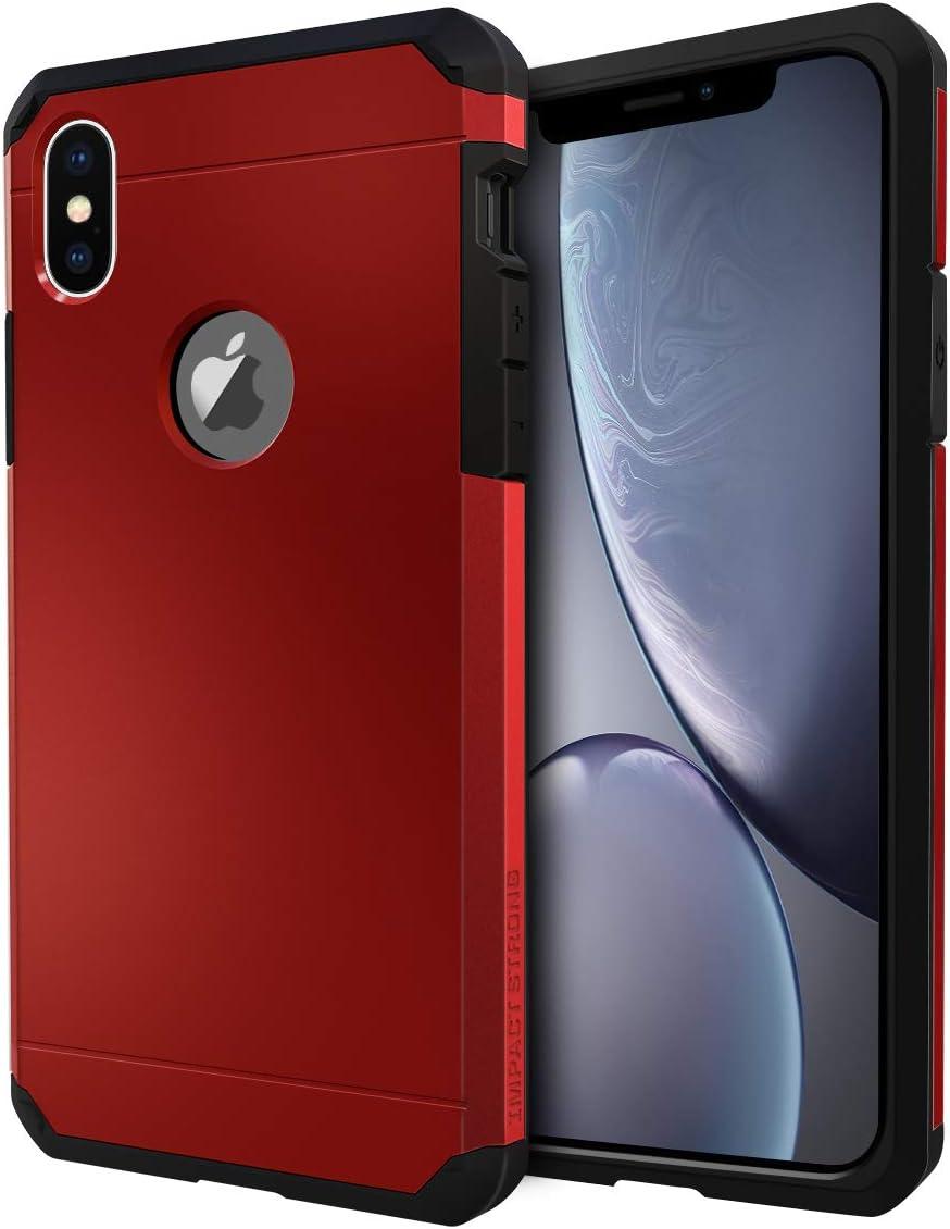 Funda de alta resistencia para iPhone X / iPhone Xs Roja