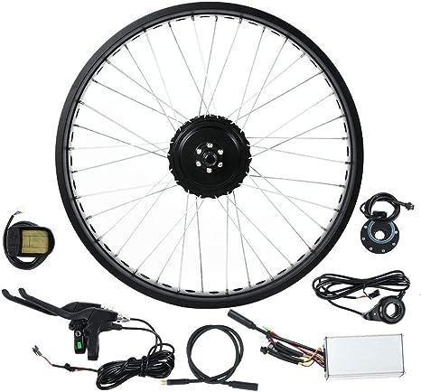 Kit de Motor de Bicicleta eléctrica, 48V 500W 20 Pulgadas LCD5 ...