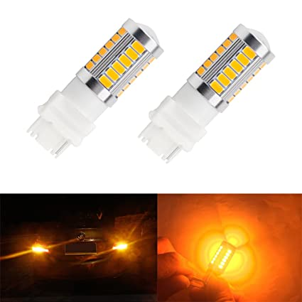 Signal Lamp Automobiles & Motorcycles 2pcs 3157 5630 33-smd 900 Lumen Dc12v Car Led Light Turn Signal Brake Lamp Bulb