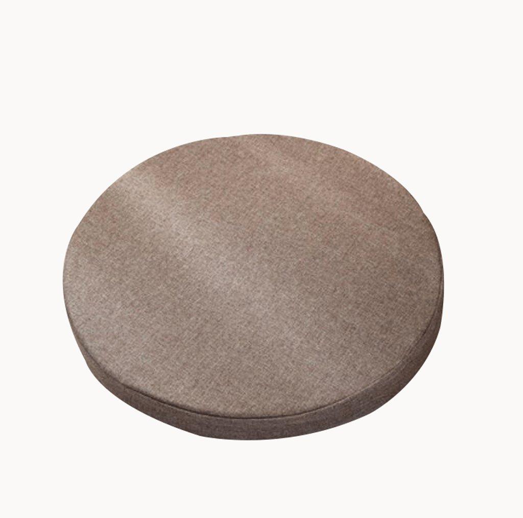 Cuscino Wddwarmhome luce di colore del caffè spugna portico rilievo Yoga Mat Diametro: 50cm