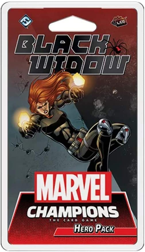 Combination Tables Black Widow Pack Marvel Champions LCG Sports ...