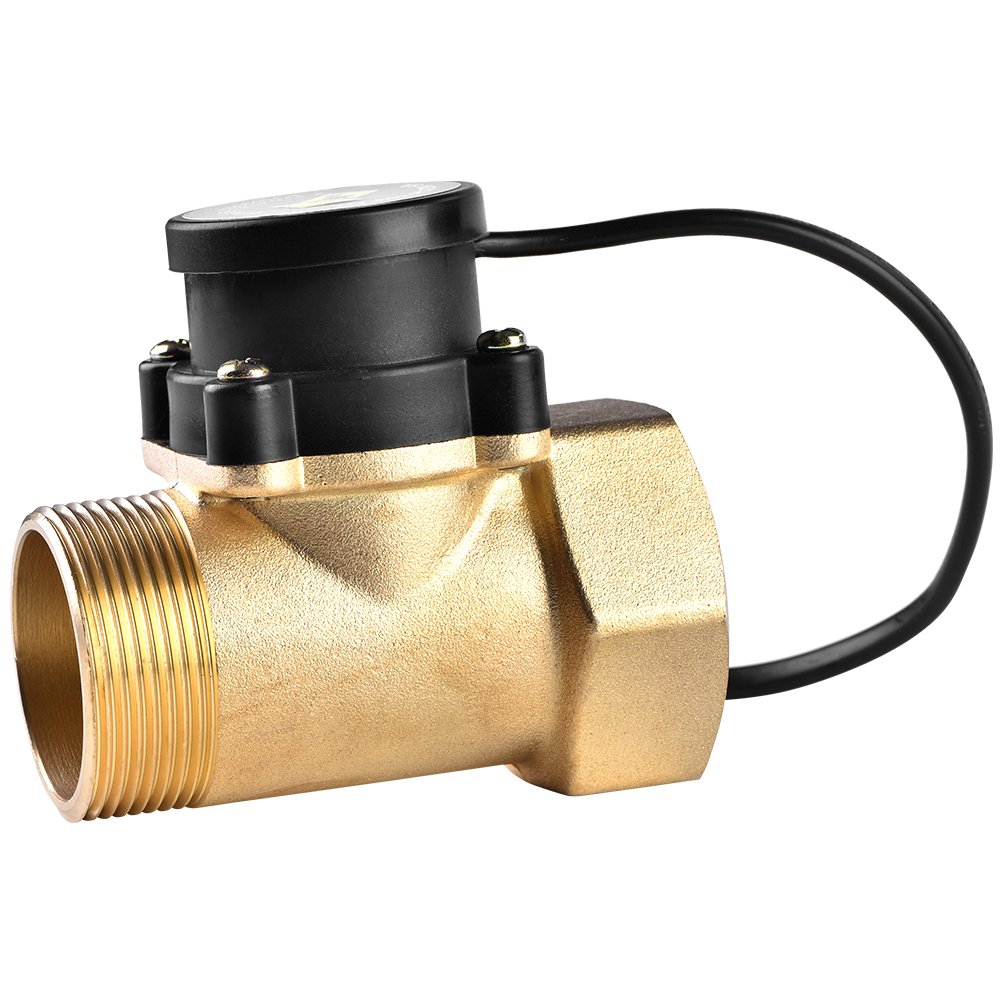 1 PCS HT-802 AC 220V 5A G1.5''-1.5'' Thread Water Flow Sensor Controlling Switch for Boost Pump