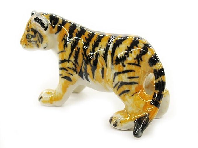 Amazon.com: Animal en miniatura hecho a mano bebé tigre de ...