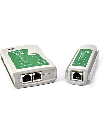 Xiton Red de Cable Tester LAN RJ45 RJ11 Cat 5 N21CL Herramienta de línea Ethernet Internet